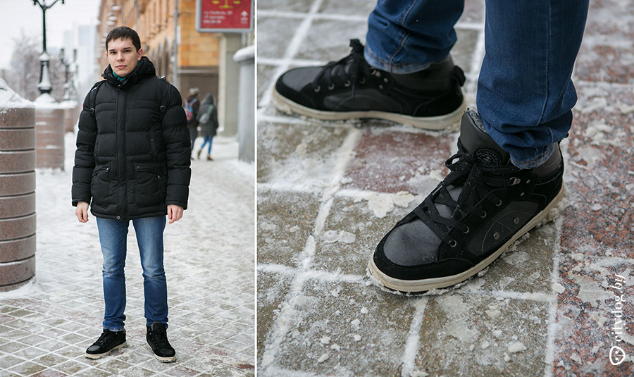 71568a80 Кроссовки я покупал, по-моему, в «Мегатопе», но точно не скажу. Они  утепленные, поэтому зимой в них ходить самое ...