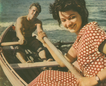 Как модники отдыхали на Нарочи 50 лет назад