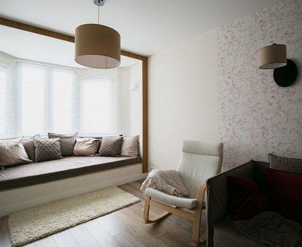 Квартиросъемка: «трешка» с камином и дорогущей плиткой под ванной