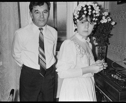Фотошот: смотрите, как праздновали свадьбу в обычной городской квартире в 1986 году