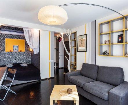 Квартиросъемка: «однушка» архитектора, где реализовали идеи, которые боялись воплощать у заказчиков