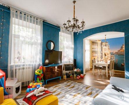 Квартиросъемка: дом в центре Минска, а как будто в деревне