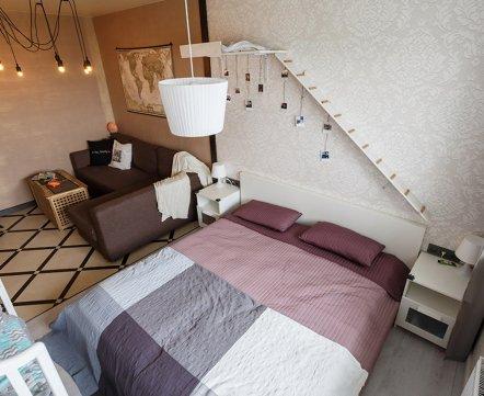 Квартиросъемка: «однушка» на 23 этаже, где детскую планируют сделать на балконе