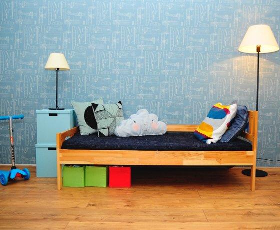 Квартиросъемка: 4-комнатная квартира, где любимое место всей семьи – кровать