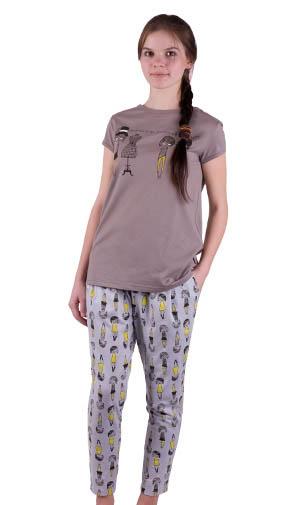 46cbc5e8e7e8 Но в последнее время, например, «Свiтанак» очень старается, и вот эта пижама  – удовольствие без примесей: такая недорогая и такая хорошенькая.