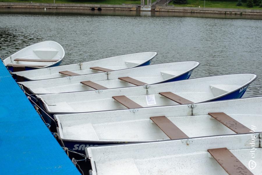 минск покататься на лодках