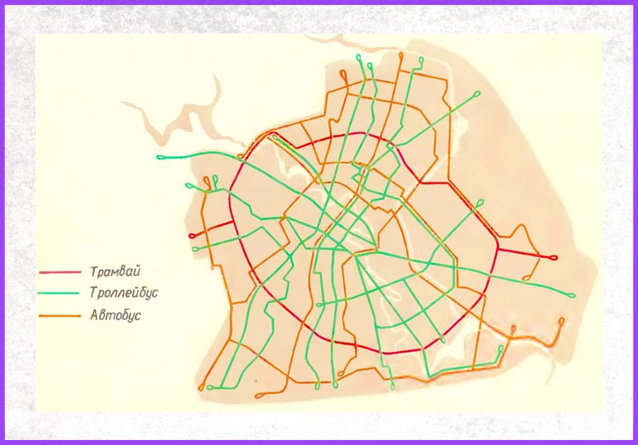 Перспективная схема городского