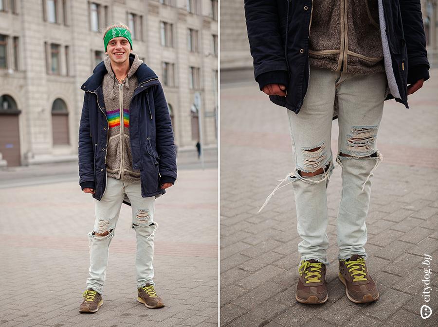 Как сделать рванные джинсы чем