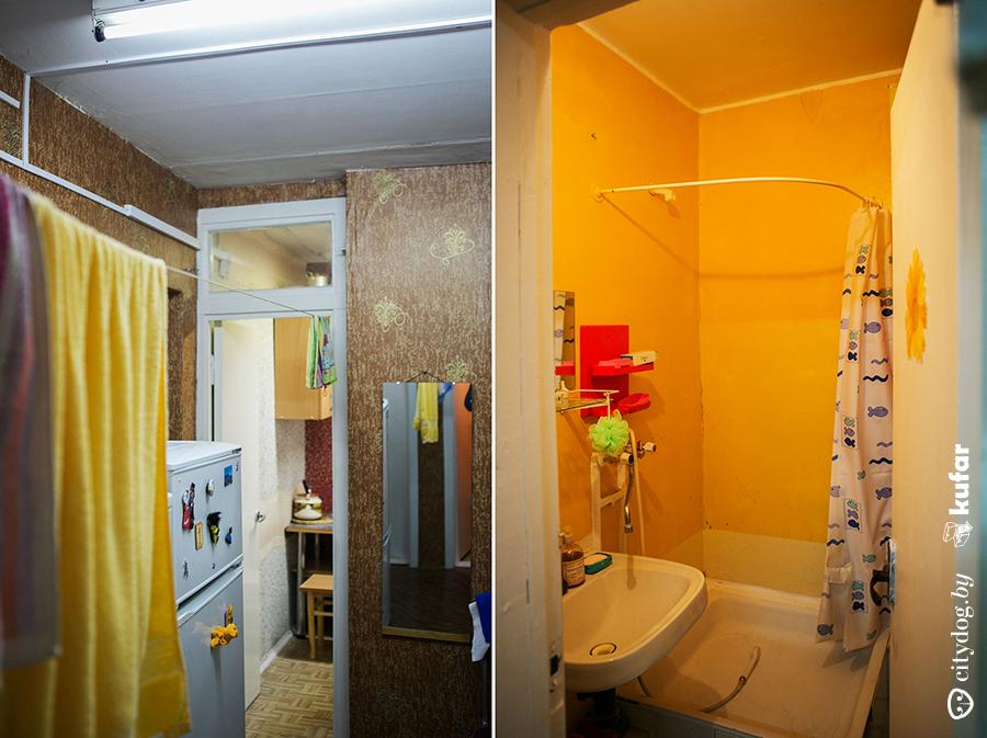 буйства красок комната в общежитии с санузлом фото того