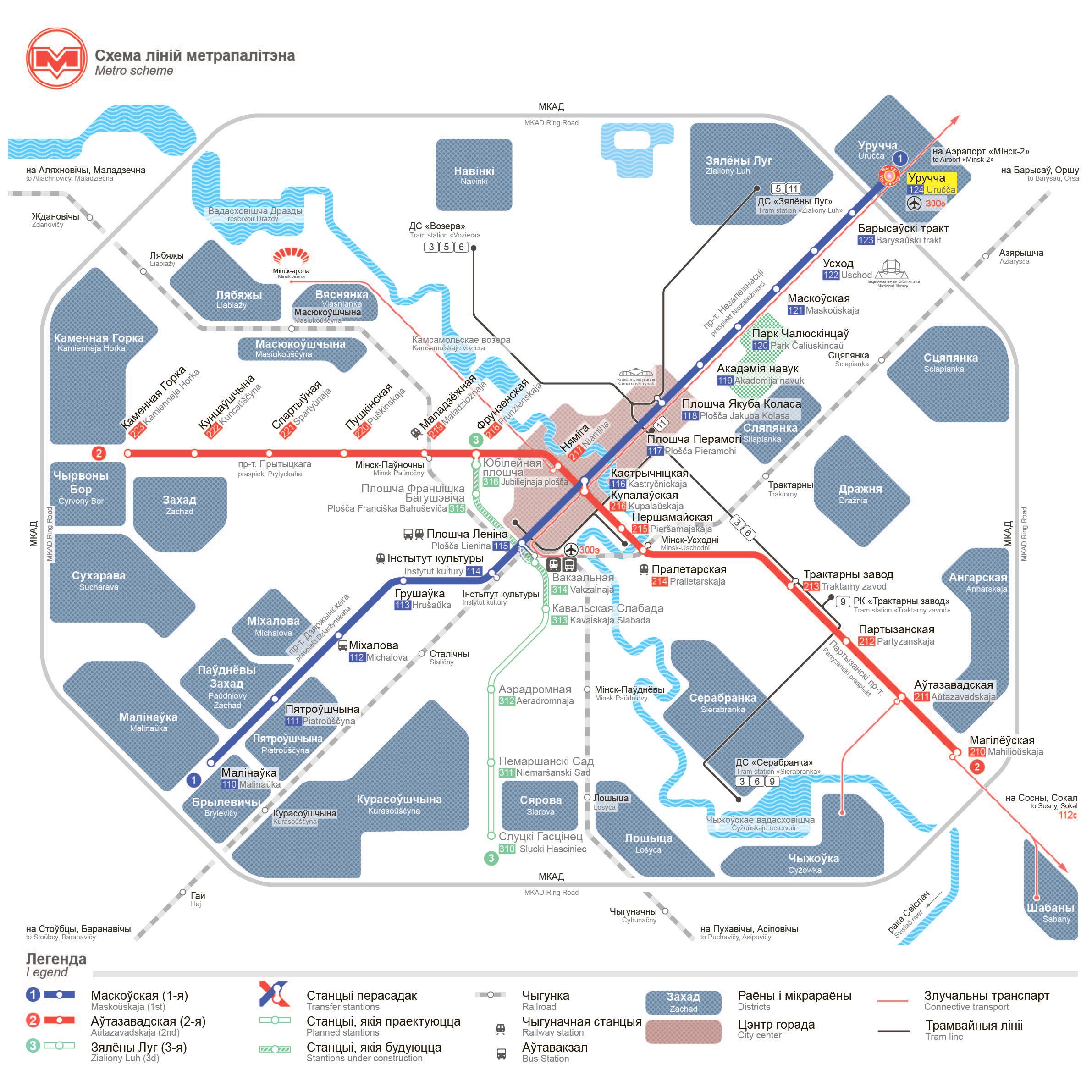 Схемы устройства метро