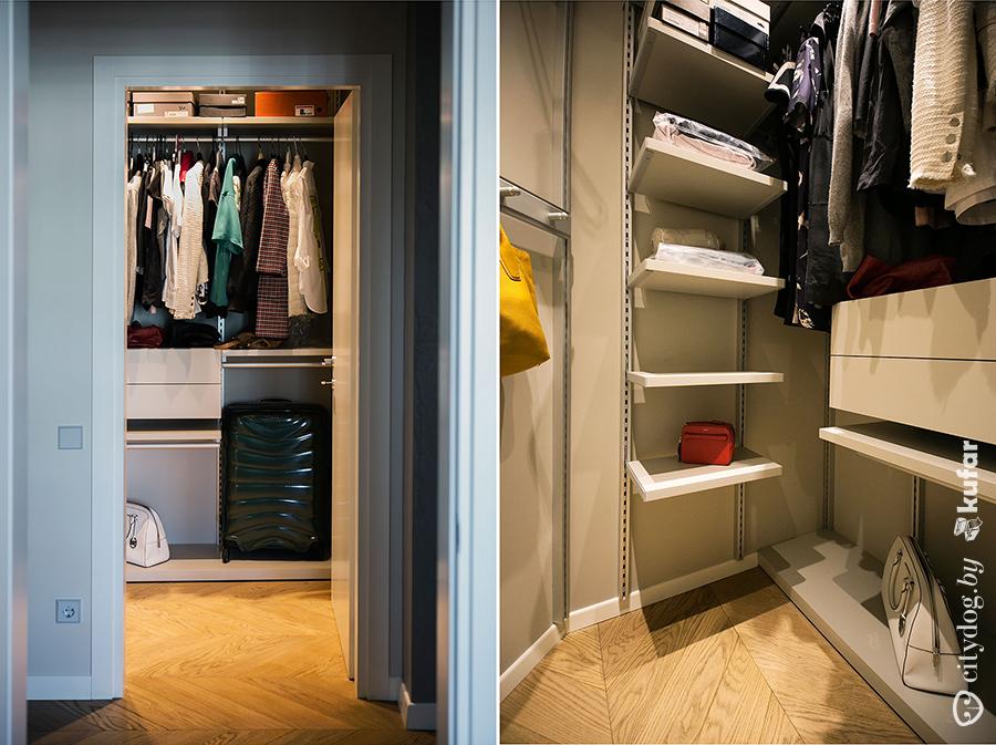 Бюджетная гардеробная комната своими руками 69