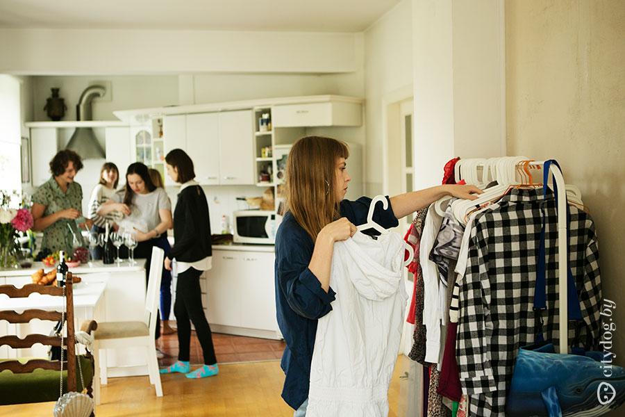 Картинки обмен одежды
